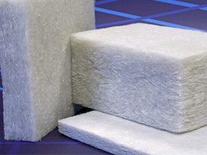 Non-woven polyester insulator